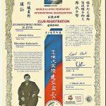 Certyfikat przynależności JOJJ do WJJF